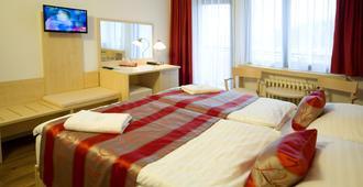 Hotel Krystal - פראג - חדר שינה