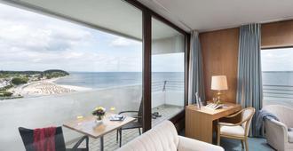 Maritim Strandhotel Travemünde - ליבק - חדר שינה