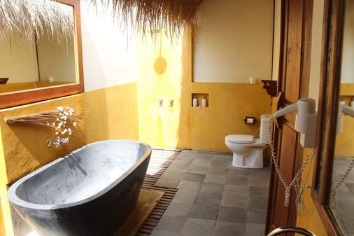 峇里薩普第烏布酒店 - 烏布 - 烏布 - 浴室