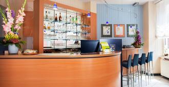 Hotel Plaza - פרנקפורט אם מיין - דלפק קבלה