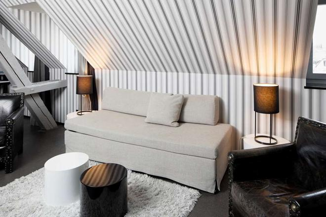 Boutique Hotel Helvetia - Zurich - Living room