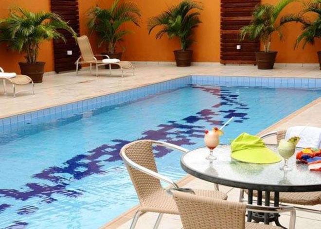 瑪瑙斯斯利普酒店 - 瑪瑙斯 - 馬瑙斯 - 游泳池