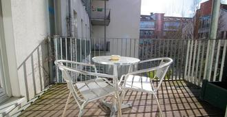 Hotel Ahrberg Viertel - האנובר - מרפסת