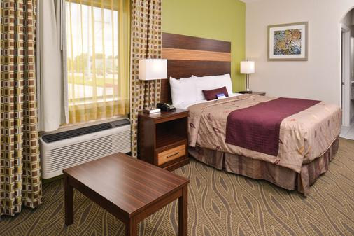 Americas Best Value Inn & Suites Houston Downtown - Houston - Phòng ngủ