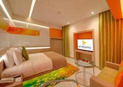 Al Khoory Atrium Hotel - Dubai - Bedroom