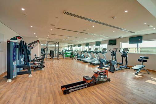 Al Khoory Atrium Hotel - Dubai - Gym