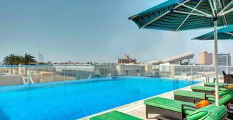 Al Khoory Atrium Hotel - Dubái - Piscina