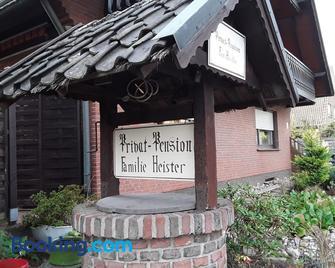Pension Heister - Isselburg - Gebouw