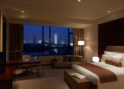 Renaissance Tianjin Lakeview Hotel - טיאנג'ין - חדר שינה