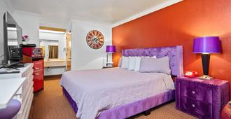 Americana Inn - South San Francisco - Bedroom