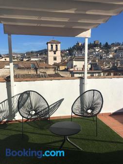 Hotel Comfort Dauro 2 - Granada - Balcony