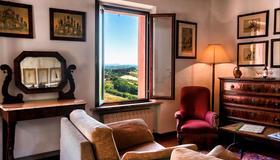 Hotel Santa Caterina - Siena - Sala de estar