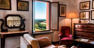 Hotel Santa Caterina - Siena - Living room
