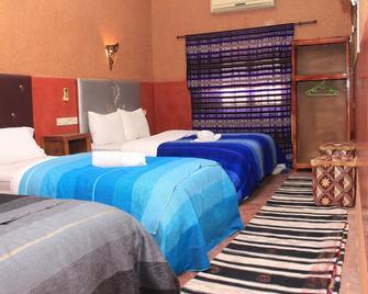Maison d'Hôtes Nouflla - Aït Ben Haddou - Schlafzimmer