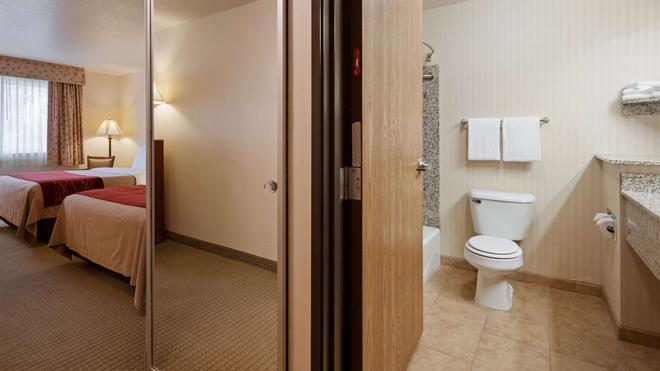 SureStay Plus Hotel by Best Western Buffalo - Buffalo - Bathroom