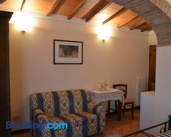 Agriturismo Poderino - San Quirico d'Orcia - Living room