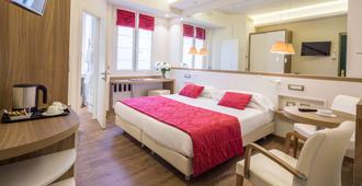 貝斯特韋斯特國家酒店 - 聖雷莫 - 聖雷莫 - 臥室