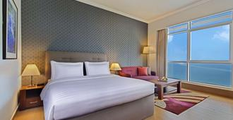The Curve Hotel - Doha - Bedroom