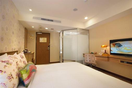 長富時尚旅店 - 台北 - 臥室