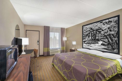 Super 8 by Wyndham Knoxville North/Powell - Powell - Schlafzimmer