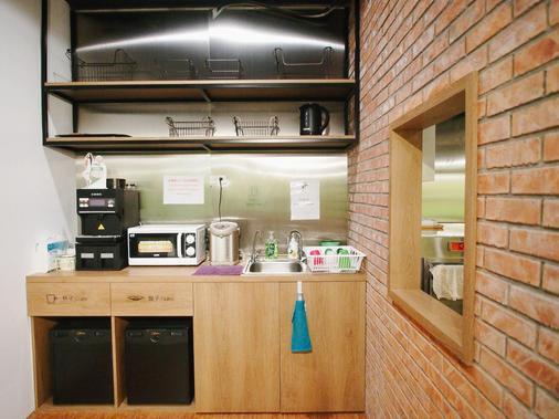 能量旅店 - 台北 - 廚房