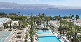 מלון ישרוטל ים סוף - אילת - בריכה