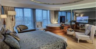 CVK Taksim Hotel Istanbul - איסטנבול - חדר שינה