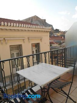 Byron Hotel - Athens - Balcony