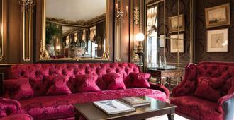 La Reserve Paris Hotel and Spa - Paris - Living room