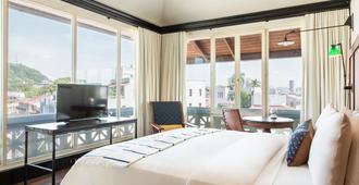 American Trade Hotel - פנמה סיטי - חדר שינה