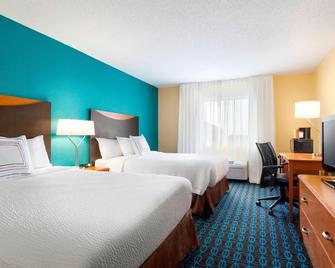 Fairfield Inn & Suites Saginaw - Midland - Slaapkamer