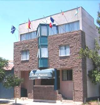 Hostal Americano - Σαντιάγο - Κτίριο
