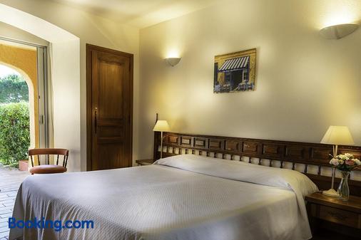 Hotel La Romarine - Ramatuelle - Bedroom