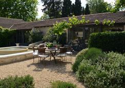 La Maison de Line Gites - Saint-Rémy-de-Provence - Innenhof