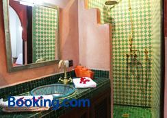 阿莉達摩洛哥傳統庭院住宅 - 馬拉喀什 - 浴室