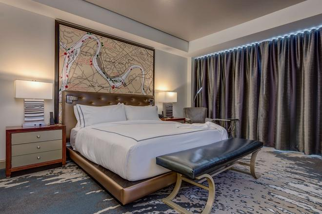 The Tennessean Personal Luxury Hotel - Knoxville - Phòng ngủ