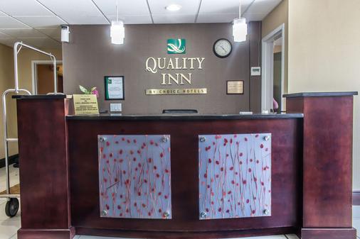 Quality Inn near Mountain Creek - McAfee - Front desk