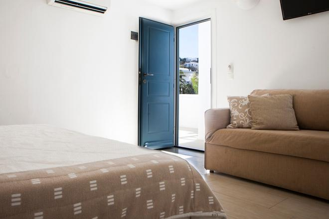 Carbonaki Hotel - Mykonos - Bedroom
