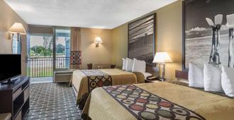 Super 8 by Wyndham Ocala I-75 - Ocala - Bedroom