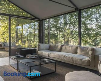Glass House & Spa - Dream&charme Certified - - Terruggia - Living room