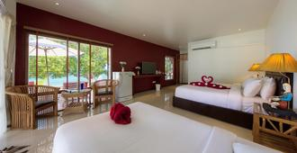 Crystal Bay Yacht Club Beach Resort - Ko Samui - Bedroom