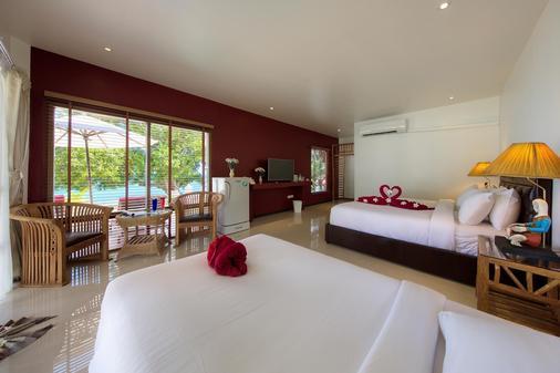 Crystal Bay Yacht Club Beach Resort - Koh Samui - Makuuhuone