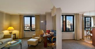 B-Aparthotel Ambiorix - Bruselas - Sala de estar