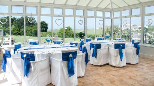 Porth Veor Manor, Sure Hotel Collection by Best Western - Newquay - Banquet hall