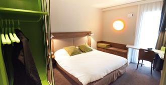 鐘樓克萊蒙費朗中心酒店 - 克雷蒙-費洪 - 克萊蒙費朗 - 臥室