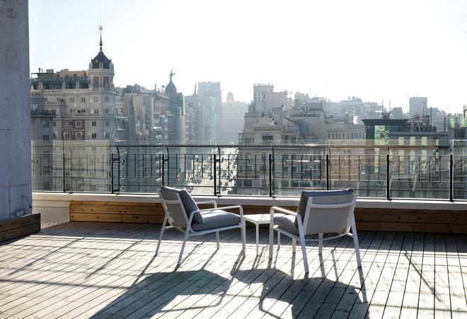 Barceló Torre de Madrid - Madrid - Parveke