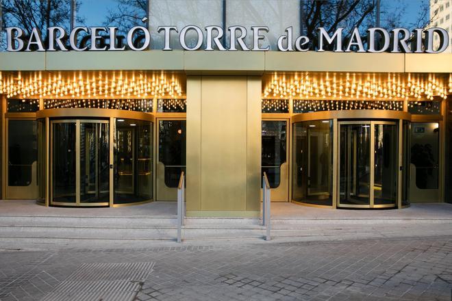 Barceló Torre de Madrid - Madrid - Rakennus