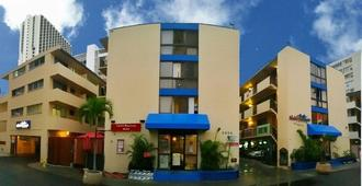 Waikiki Beachside Hostel - Honolulu - Toà nhà