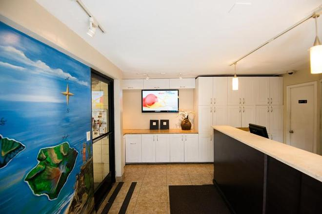 Waikiki Beachside Hostel - Honolulu - Lễ tân