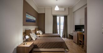 Ambrosia Suites & Aparts - אתונה - חדר שינה